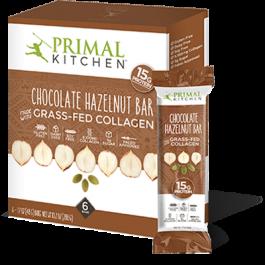 Chocolate Hazelnut Collagen Protein Bars