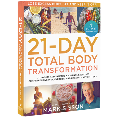 The primal blueprint 21 day total body transformation book the primal blueprint 21 day total body transformation malvernweather Choice Image