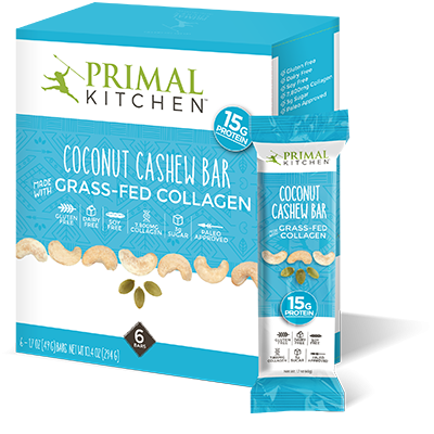 Coconut Cashew Bars - 6 Pack