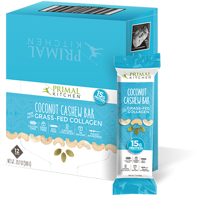 Coconut Cashew Bars - 12 Pack