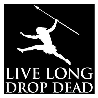 Grok Decal - Live Long Drop Dead