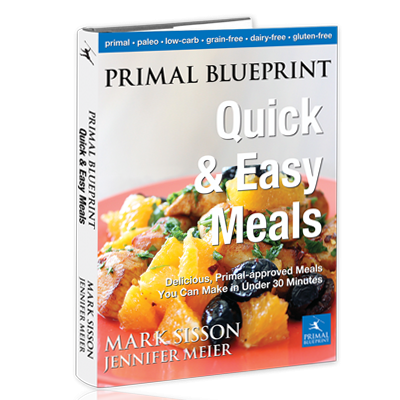Primal blueprint quick easy meals book primal blueprint primal blueprint quick easy meals malvernweather Choice Image