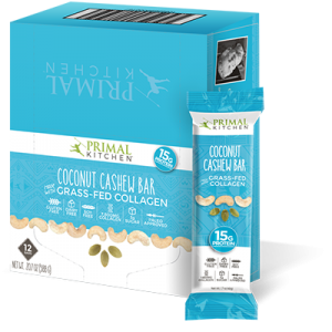 Coconut Cashew Bars - 12 Pack