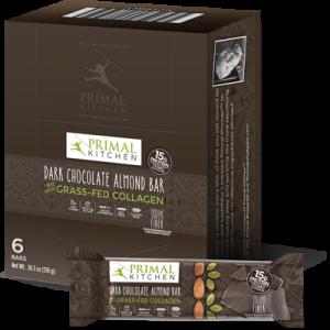Dark Chocolate Almond Bars - 6 Pack