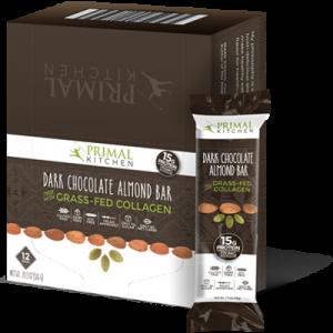 Dark Chocolate Almond Bars - 12 Pack