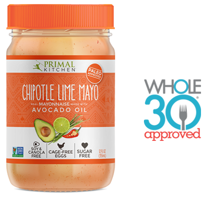 Primal Kitchen Chipotle Lime Mayo buy dairy-free avocado oil-based primal kitchen chipotle lime